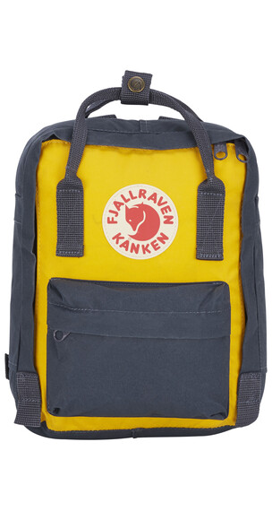 Fjällräven Kanken Mini Backpack Navy/Warm Yellow